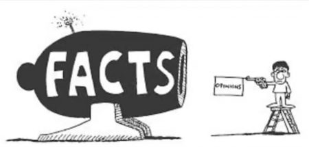 facts - opinions